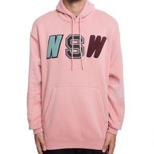 NSW Nike Pink Hoodie Sz L Unisex